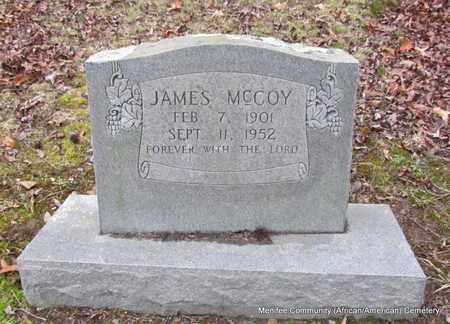 MCCOY, JAMES - Conway County, Arkansas | JAMES MCCOY - Arkansas Gravestone Photos