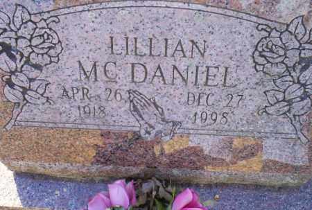 MCDANIEL, LILLIAN - Conway County, Arkansas | LILLIAN MCDANIEL - Arkansas Gravestone Photos