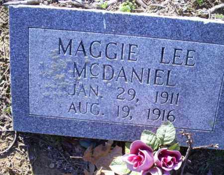 MCDANIEL, MAGGIE LEE - Conway County, Arkansas | MAGGIE LEE MCDANIEL - Arkansas Gravestone Photos