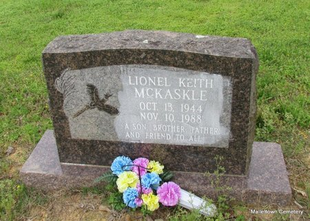 MCKASKLE, LIONEL KEITH - Conway County, Arkansas   LIONEL KEITH MCKASKLE - Arkansas Gravestone Photos