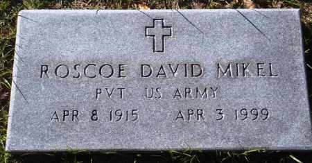 MIKEL  (VETERAN), ROSCOE DAVID - Conway County, Arkansas | ROSCOE DAVID MIKEL  (VETERAN) - Arkansas Gravestone Photos