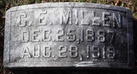 MILLEN, C. E. - Conway County, Arkansas | C. E. MILLEN - Arkansas Gravestone Photos