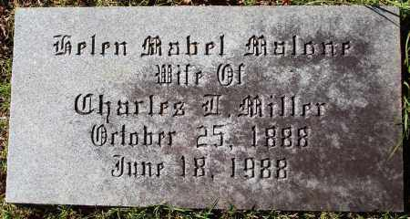 MALONE MILLER, HELEN MABEL - Conway County, Arkansas | HELEN MABEL MALONE MILLER - Arkansas Gravestone Photos