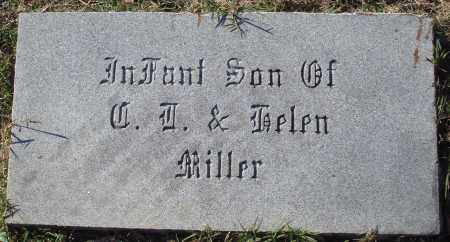 MILLER, INFANT SON - Conway County, Arkansas   INFANT SON MILLER - Arkansas Gravestone Photos