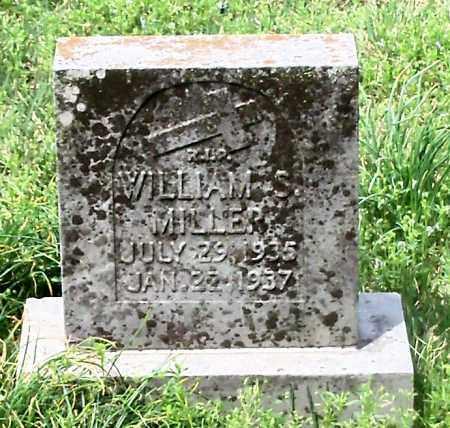 MILLER, WILLIAM S - Conway County, Arkansas   WILLIAM S MILLER - Arkansas Gravestone Photos