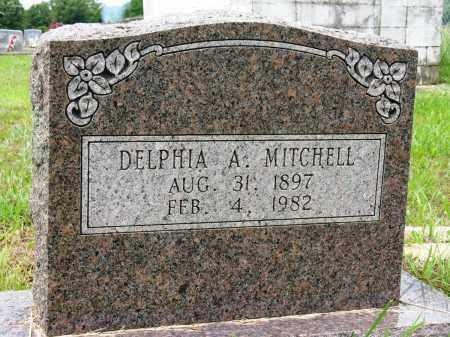MITCHELL, DELPHIA A - Conway County, Arkansas | DELPHIA A MITCHELL - Arkansas Gravestone Photos