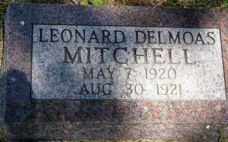 MITCHELL, LEONARD DELMOAS - Conway County, Arkansas | LEONARD DELMOAS MITCHELL - Arkansas Gravestone Photos