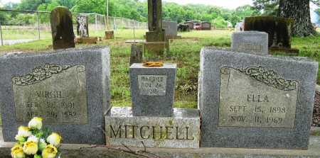 MITCHELL, VIRGIL - Conway County, Arkansas | VIRGIL MITCHELL - Arkansas Gravestone Photos