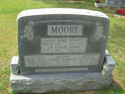 MOORE, JAMES BENNETT - Conway County, Arkansas | JAMES BENNETT MOORE - Arkansas Gravestone Photos