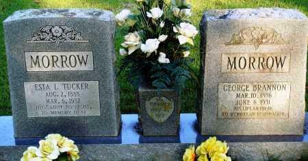 TUCKER MORROW, ESTA L. - Conway County, Arkansas | ESTA L. TUCKER MORROW - Arkansas Gravestone Photos