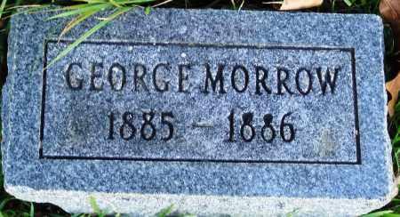 MORROW, GEORGE - Conway County, Arkansas | GEORGE MORROW - Arkansas Gravestone Photos