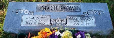 MORROW, MARY AGATHA - Conway County, Arkansas   MARY AGATHA MORROW - Arkansas Gravestone Photos