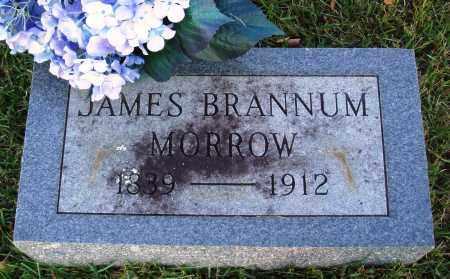 MORROW, JAMES BRANNUM - Conway County, Arkansas   JAMES BRANNUM MORROW - Arkansas Gravestone Photos
