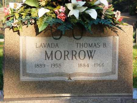 MORROW, LAVADA - Conway County, Arkansas | LAVADA MORROW - Arkansas Gravestone Photos
