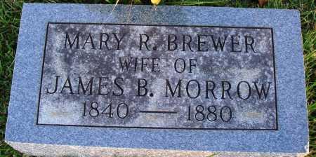 MORROW, MARY R. - Conway County, Arkansas | MARY R. MORROW - Arkansas Gravestone Photos