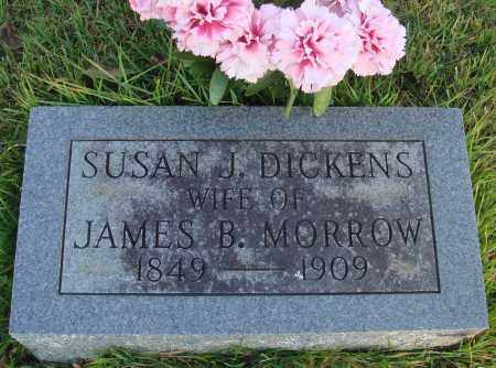 DICKENS MORROW, SUSAN J. - Conway County, Arkansas | SUSAN J. DICKENS MORROW - Arkansas Gravestone Photos