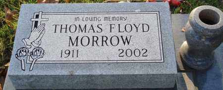 MORROW, THOMAS FLOYD - Conway County, Arkansas | THOMAS FLOYD MORROW - Arkansas Gravestone Photos