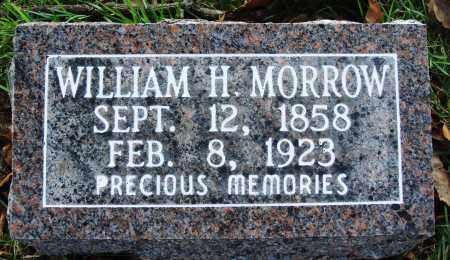 MORROW, WILLIAM H. - Conway County, Arkansas | WILLIAM H. MORROW - Arkansas Gravestone Photos
