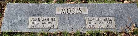 MOSES, MAGGIE BELL - Conway County, Arkansas | MAGGIE BELL MOSES - Arkansas Gravestone Photos