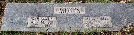 MOSES, JOHN SAMUEL - Conway County, Arkansas | JOHN SAMUEL MOSES - Arkansas Gravestone Photos