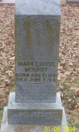 ROCHELLE MOUROT, MARY LOUISE - Conway County, Arkansas | MARY LOUISE ROCHELLE MOUROT - Arkansas Gravestone Photos