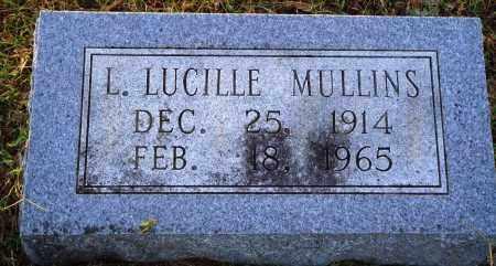 MULLINS, L. LUCILLE - Conway County, Arkansas | L. LUCILLE MULLINS - Arkansas Gravestone Photos