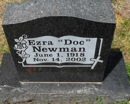 "NEWMAN, EZRA ""DOC"" - Conway County, Arkansas | EZRA ""DOC"" NEWMAN - Arkansas Gravestone Photos"