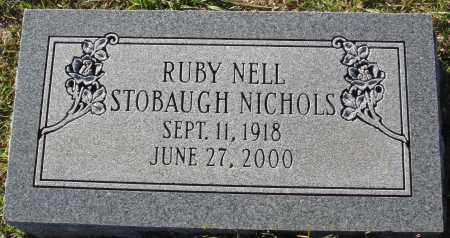 STOBAUGH NICHOLS, RUBY NELL - Conway County, Arkansas | RUBY NELL STOBAUGH NICHOLS - Arkansas Gravestone Photos