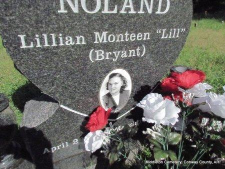 "BRYANT NOLAND, LILLIAN MONTEEN ""LILL"" (PHOTO) - Conway County, Arkansas | LILLIAN MONTEEN ""LILL"" (PHOTO) BRYANT NOLAND - Arkansas Gravestone Photos"