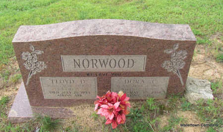 NORWOOD, FLOYD DAVID - Conway County, Arkansas   FLOYD DAVID NORWOOD - Arkansas Gravestone Photos