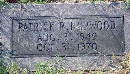 NORWOOD, PATRICK R. - Conway County, Arkansas | PATRICK R. NORWOOD - Arkansas Gravestone Photos