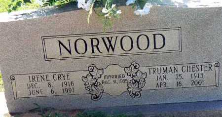 NORWOOD, TRUMAN CHESTER - Conway County, Arkansas | TRUMAN CHESTER NORWOOD - Arkansas Gravestone Photos