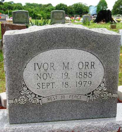 ORR, IVOR M - Conway County, Arkansas   IVOR M ORR - Arkansas Gravestone Photos