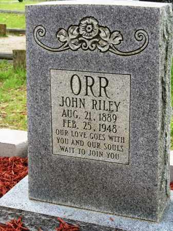 ORR, JOHN RILEY - Conway County, Arkansas   JOHN RILEY ORR - Arkansas Gravestone Photos