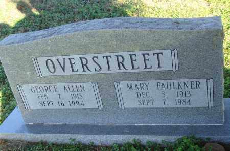 FAULKNER OVERSTREET, MARY - Conway County, Arkansas | MARY FAULKNER OVERSTREET - Arkansas Gravestone Photos
