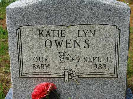 OWENS, KATIE LYN - Conway County, Arkansas | KATIE LYN OWENS - Arkansas Gravestone Photos