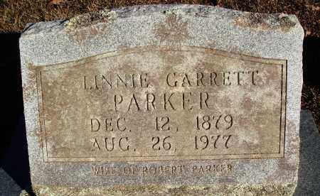 GARRETT PARKER, LINNIE - Conway County, Arkansas | LINNIE GARRETT PARKER - Arkansas Gravestone Photos