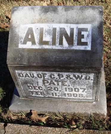 PATE, ALINE - Conway County, Arkansas | ALINE PATE - Arkansas Gravestone Photos
