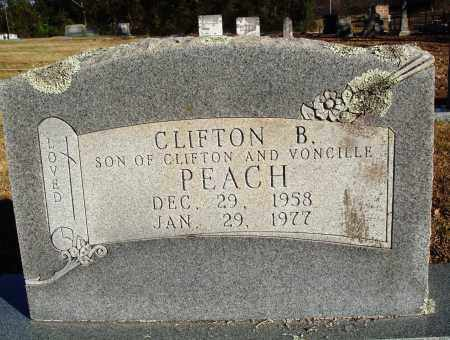 PEACH, CLIFTON B. - Conway County, Arkansas | CLIFTON B. PEACH - Arkansas Gravestone Photos