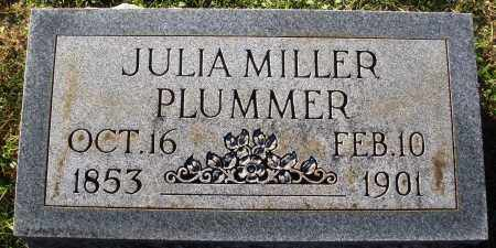 MILLER PLUMMER, JULIE - Conway County, Arkansas | JULIE MILLER PLUMMER - Arkansas Gravestone Photos