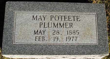 POTEETE PLUMMER, MARY - Conway County, Arkansas | MARY POTEETE PLUMMER - Arkansas Gravestone Photos