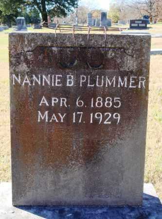 PLUMMER, NANNIE B. - Conway County, Arkansas | NANNIE B. PLUMMER - Arkansas Gravestone Photos