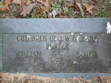 PORTER, WILLIAM - Conway County, Arkansas | WILLIAM PORTER - Arkansas Gravestone Photos