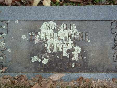 PORTER, ELLEN IRENE - Conway County, Arkansas   ELLEN IRENE PORTER - Arkansas Gravestone Photos