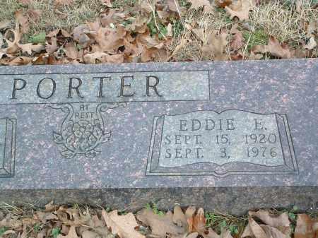 PORTER, EDDIE E. - Conway County, Arkansas | EDDIE E. PORTER - Arkansas Gravestone Photos