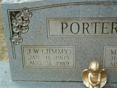 "PORTER, J.W. ""JIMMY"" - Conway County, Arkansas | J.W. ""JIMMY"" PORTER - Arkansas Gravestone Photos"