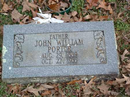 PORTER, JOHN WILLIAM - Conway County, Arkansas   JOHN WILLIAM PORTER - Arkansas Gravestone Photos