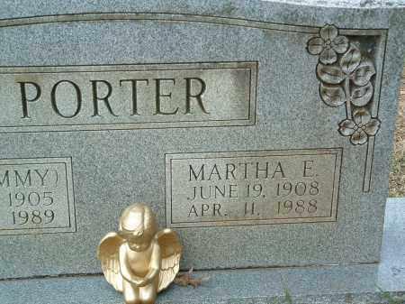 PORTER, MARTHA E. - Conway County, Arkansas   MARTHA E. PORTER - Arkansas Gravestone Photos
