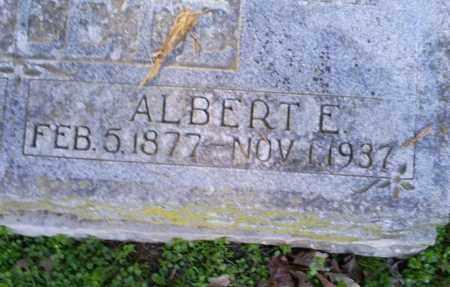 POTEETE, ALBERT E. - Conway County, Arkansas   ALBERT E. POTEETE - Arkansas Gravestone Photos