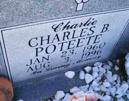 POTEETE, CHARLES B. 'CHARLIE' - Conway County, Arkansas | CHARLES B. 'CHARLIE' POTEETE - Arkansas Gravestone Photos